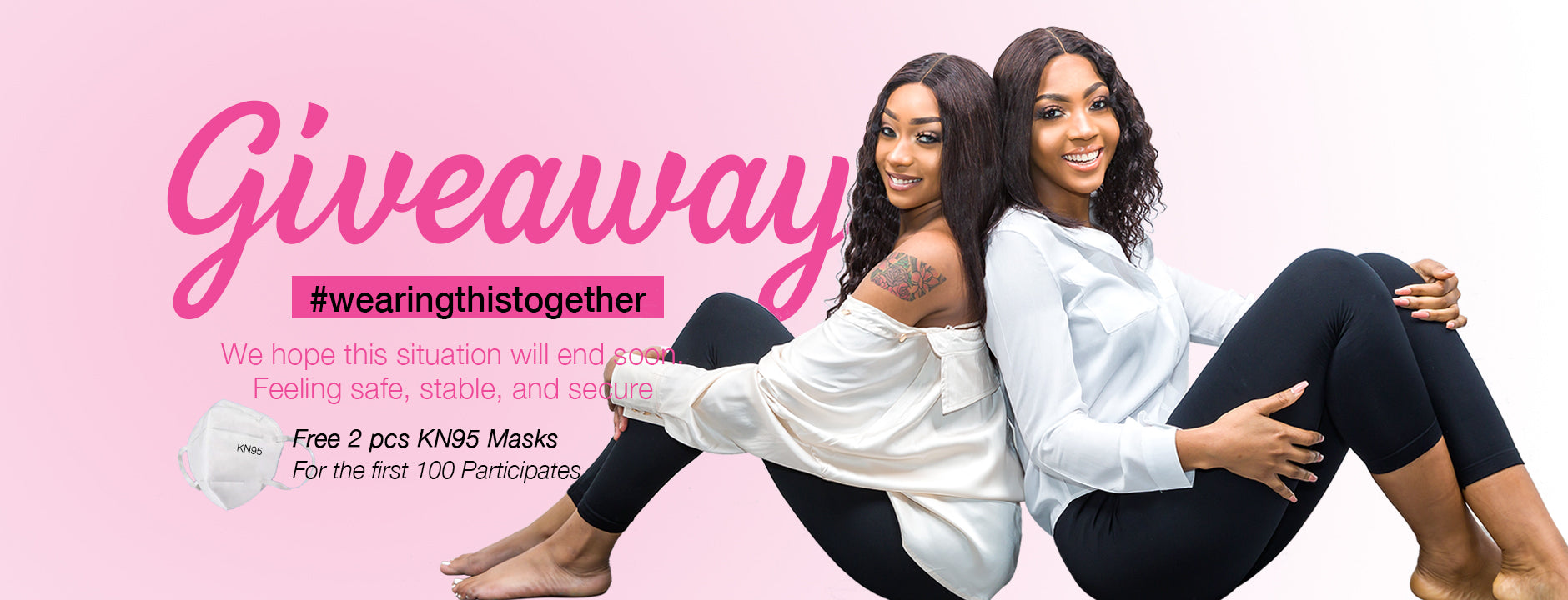Giveaway l BrooklynHair.com l Together
