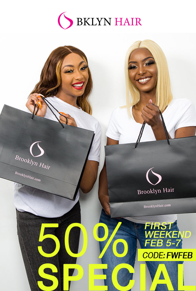 All Bundle & Wigs 50% OFF