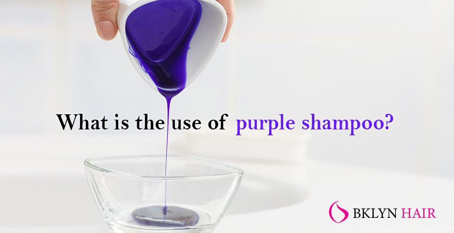 What is the use of purple shampoo?