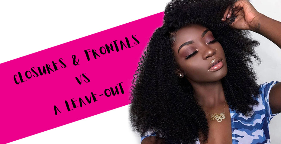 Closures and frontals vs a Leave-out