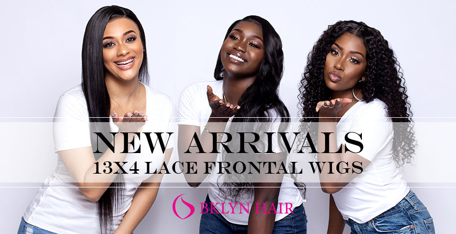 New Arrivals: 13x4 lace frontal wigs