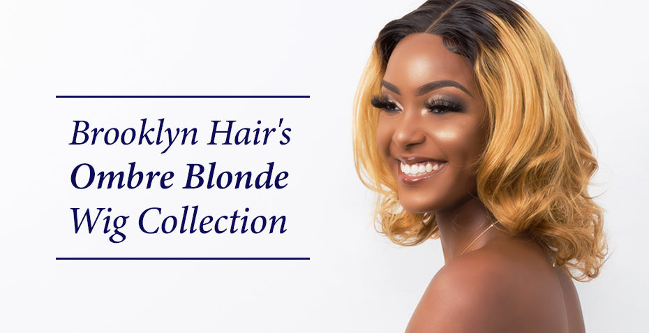 Ombre blonde wig collection