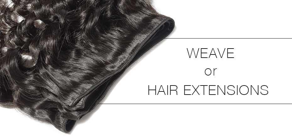 What is the difference between weave and hair extensions?