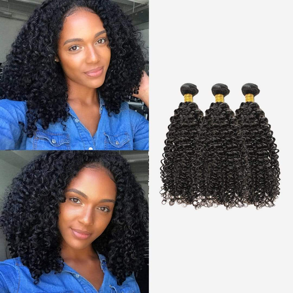 Brooklyn Hair 11A Bohemian Jerry Curl Bundle Hair / 3 Bundles Look - Bundle Hair - Brooklyn Hair
