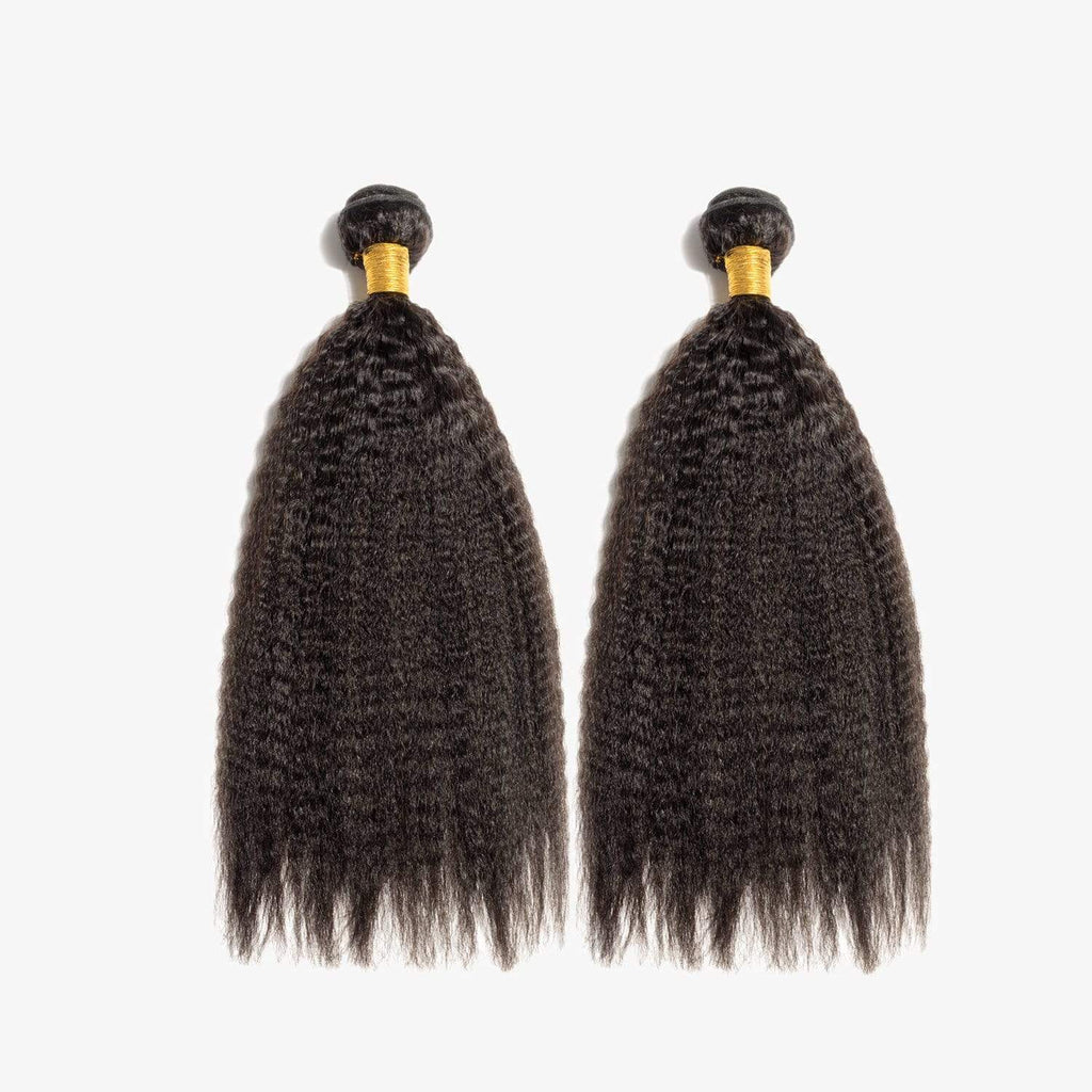 Brooklyn Hair 11A Kinky Straight 2 Bundle Deals - Bundle Hair - Brooklyn Hair