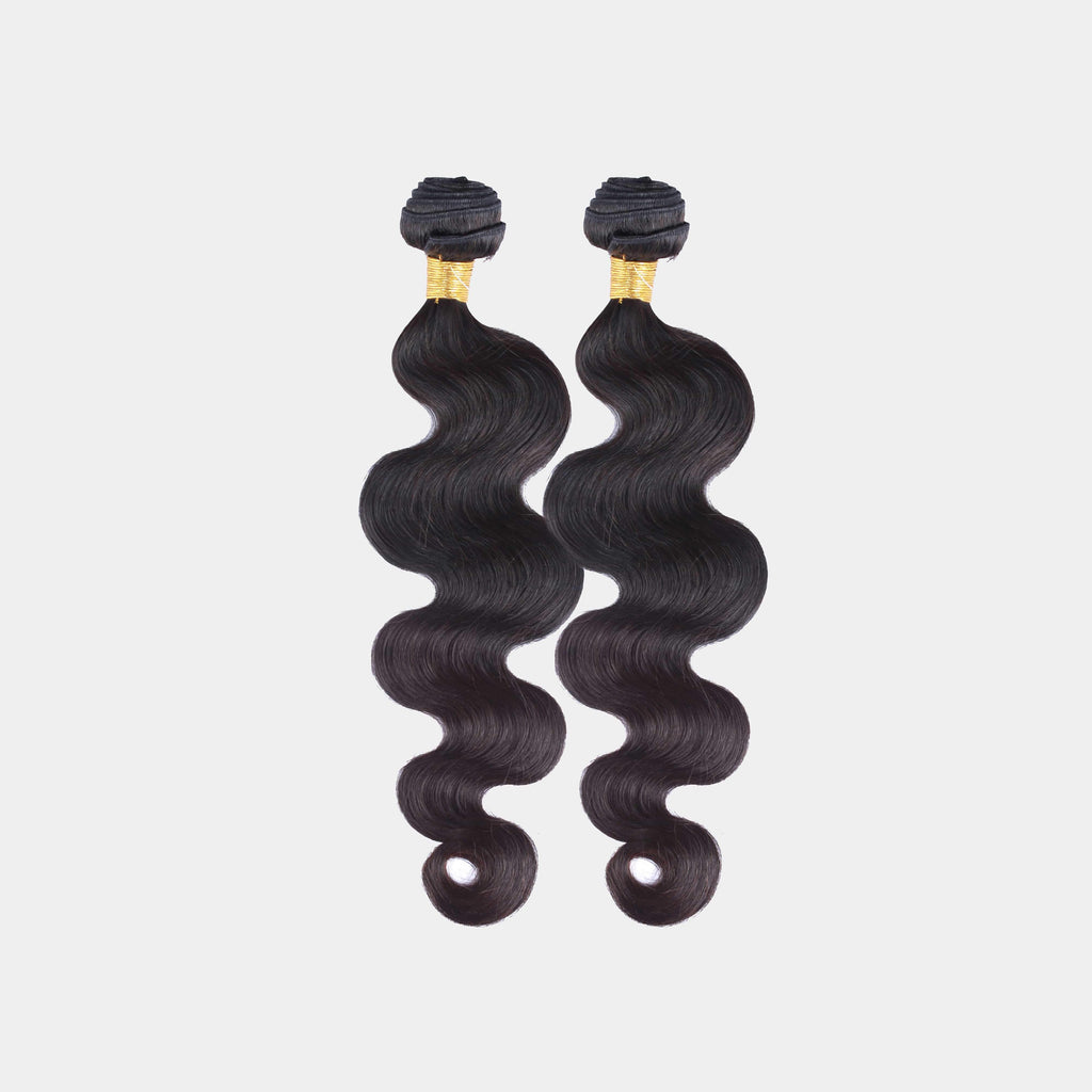 Brooklyn Hair 11A Grade Raw Virgin Hair 100% Brazilian Human Hair Extension Body Wave Bundle Hair Weave 2 Bundle Deals - Bundle Hair - Brooklyn Hair