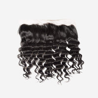 Brooklyn Hair 7A Grade 100% Virgin Brazilian Human Hair Ocean Wave 13x4 Lace Frontal - Bundle Hair - Brooklyn Hair