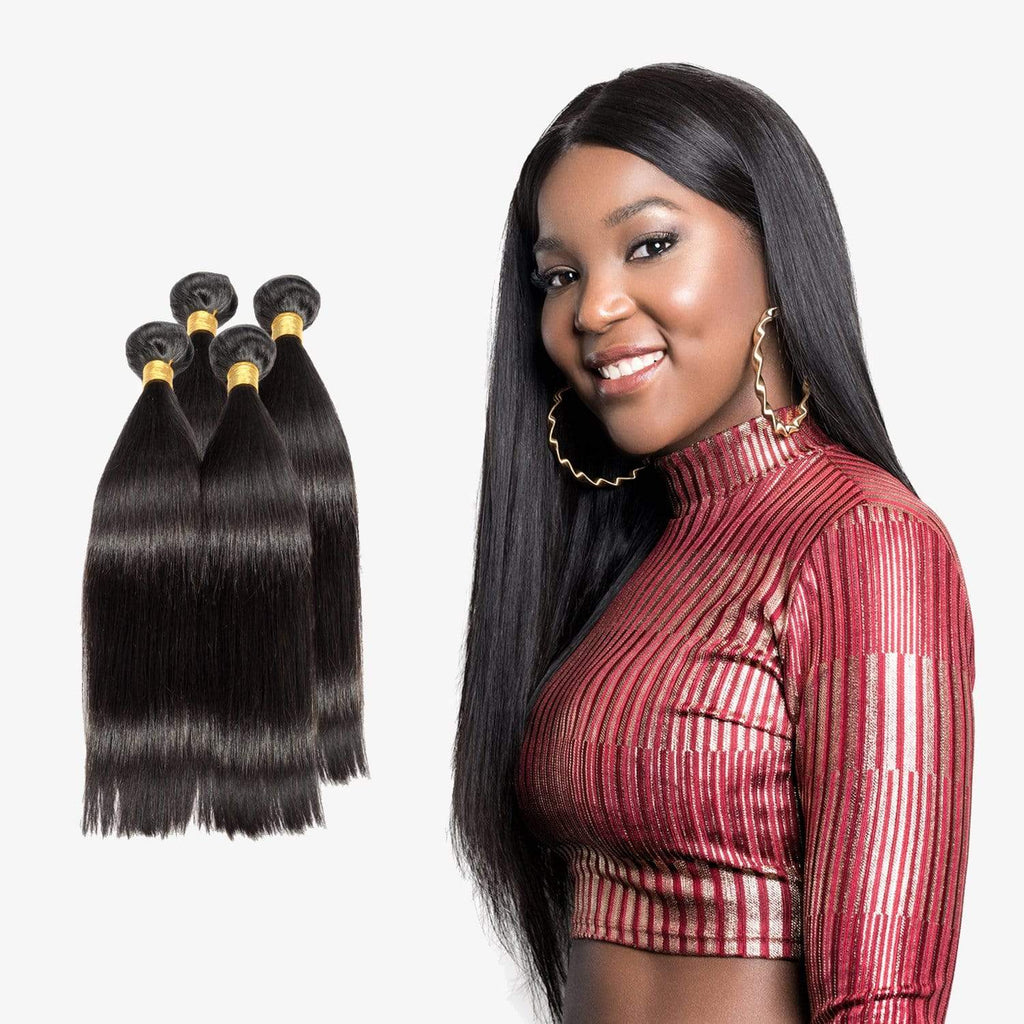Brooklyn Hair 7A Straight 4 Bundle Deals - Bundle Hair - Brooklyn Hair
