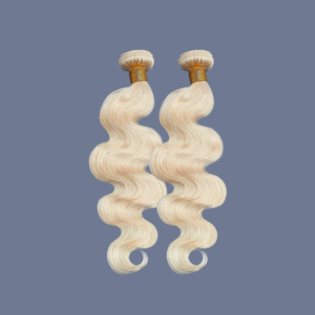 Brooklyn Hair 9A Platinum Blonde #613 Hair Body Wave 2 Bundle Deals - Brooklyn Hair