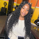 Brooklyn Hair 9A Loose Deep Wave / 3 Bundles with 4x4 Lace Closure Deal