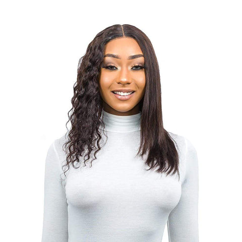 "Brooklyn Hair Wet & Wavy T Part Wig / Caribbean Deep 14-18"" - Brooklyn Hair"