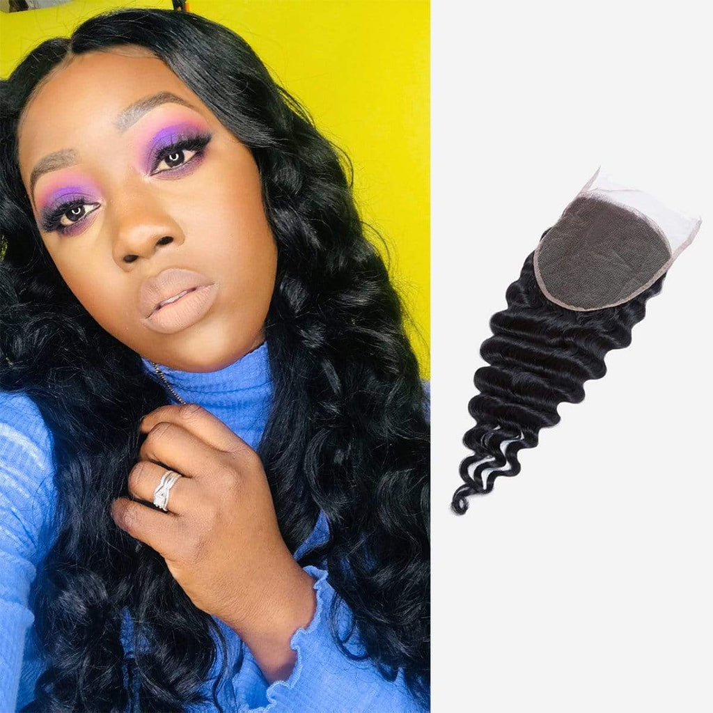 Brooklyn Hair 9A Brazilian Loose Wave 6x6 Transparent (HD) Lace Closure - Bundle Hair - Brooklyn Hair
