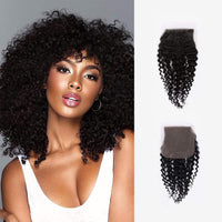 Brooklyn Hair 11A Bohemian Jerry Curl 4x4 Transparent Lace Closure - Bundle Hair - Brooklyn Hair