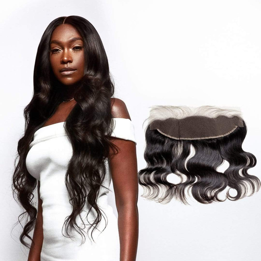 Brooklyn Hair 11A Raw Virgin Body Wave 13x4 Transparent Lace Frontal - Bundle Hair - Brooklyn Hair