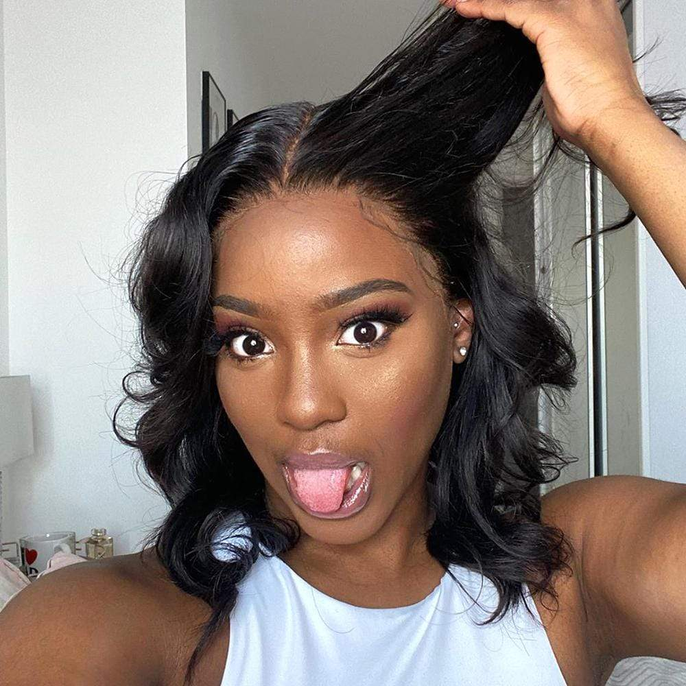 Brooklyn Hair 7A Body Wave Bundle Hair / 2 Bundle with 13x4 Lace Frontal Look - Bundle Hair - Brooklyn Hair