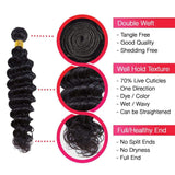 Brooklyn Hair 7A Deep Wave 2 Bundle Deals - Bundle Hair - Brooklyn Hair