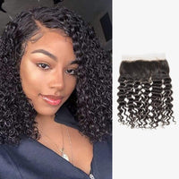 Brooklyn Hair 7A Grade 100% Virgin Brazilian Human Hair Deep Wave 13x4 HD Lace Frontal - Bundle Hair - Brooklyn Hair