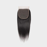 Brooklyn Hair 7A Grade 100% Virgin Brazilian Human Hair Straight 6x6 Lace Closure