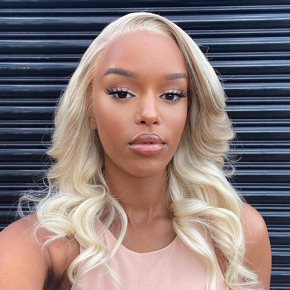 Brooklyn Hair 9A Blonde #613 Body Wave / 3 Bundles with 11A 13x4 Lace Frontal Look - Brooklyn Hair