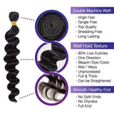 Brooklyn Hair 9A Brazilian Loose Wave 4 Bundle Deals - Bundle Hair - Brooklyn Hair