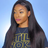 Brooklyn Hair 9A Straight / 3 Bundles with 13x4 Lace Frontal Look by PETITE-SUE - Bundle Hair - Brooklyn Hair