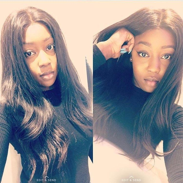 Brooklyn Hair 7A Body Wave / 3 Bundles with 6x6 Lace Closure Look - Brooklyn Hair
