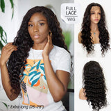 Brooklyn Hair Full Lace Wig / Brazilian Loose Deep Wave Extra Long Style 26-28