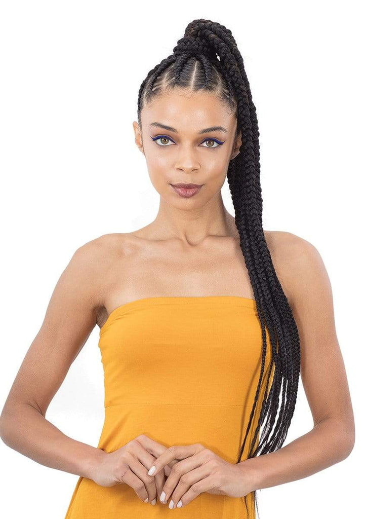 "FreeTress 3X Clean Therapy In Vinegar wash Pre-Stretched Braids 52"" - Bundle Hair - Brooklyn Hair"