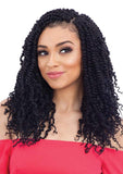 "FreeTress Crochet Braids 2X Spring Twist 12"" - Bundle Hair - Brooklyn Hair"