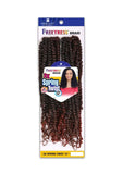 "FreeTress Crochet Braids 2X Spring Twist 12"" - Brooklyn Hair"