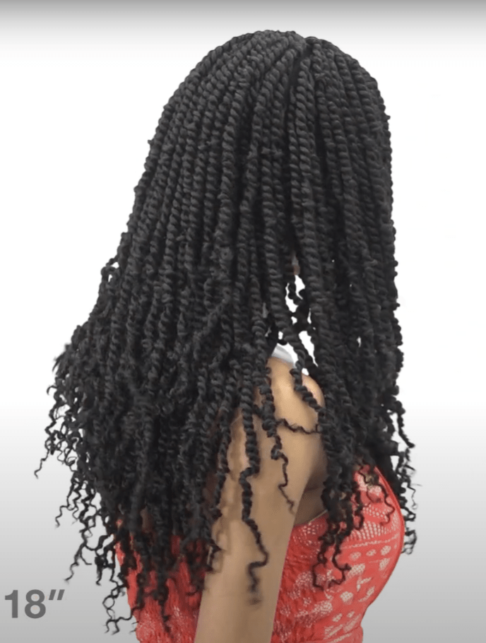 "FreeTress Crochet Braids Spring Twist 18"" - Brooklyn Hair"