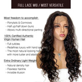 Full Lace Wig / Brazilian Loose Deep Wave - Bundle Hair - Brooklyn Hair
