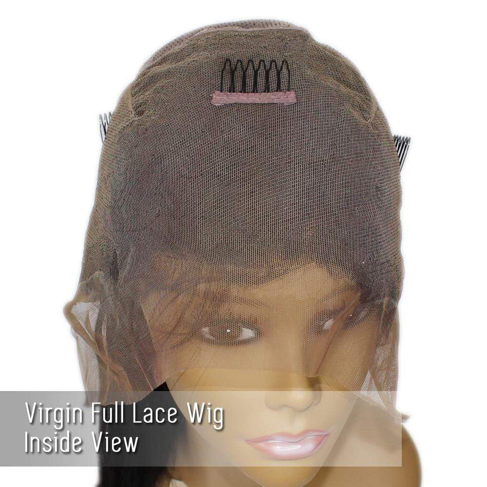 "Full Lace Wig_Brazilian Straight Extra long 24-26"" - Brooklyn Hair"