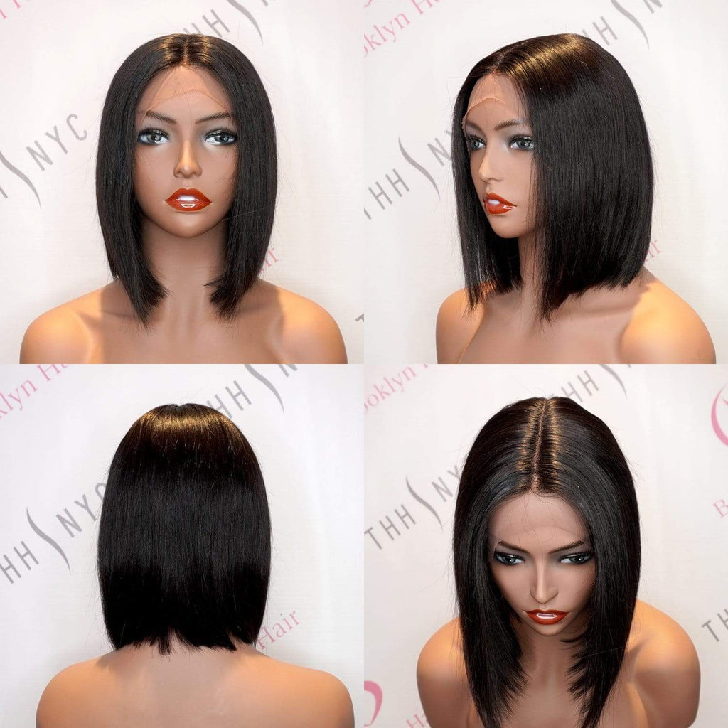 Brooklyn Hair T Part Wig - Short & Medium Bob Styles - Bundle Hair - Brooklyn Hair