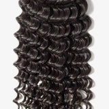 Brooklyn Hair Extension 7A Virgin 100% Human Hair Deep Wave Long Ponytail Tight Curly Hair Style Weave / 2 Bundles Deal - Bundle Hair - Brooklyn Hair