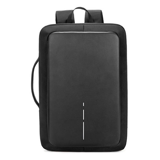 VENIWAY Men's Backpack Anti theft XD City Design Backpacks USB Charge Waterproof Travel bagpack for 15.6 notebook Laptop bag