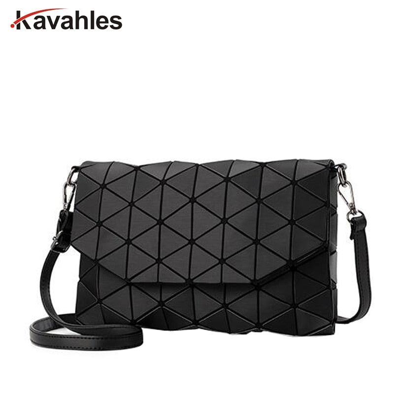 Matte Designer Women Evening Bag Shoulder Bags Girls  Flap Handbag Fashion Geometric  Casual Clutch Messenger Bag PP-1148