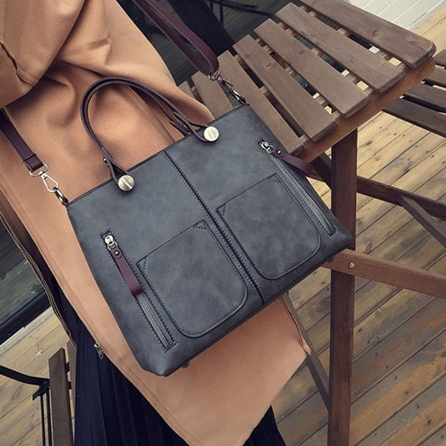 Vintage Women Shoulder Bag Female Causal Totes Messenger for Daily Shopping All-Purpose High Quality Dames Crossbody Handbag