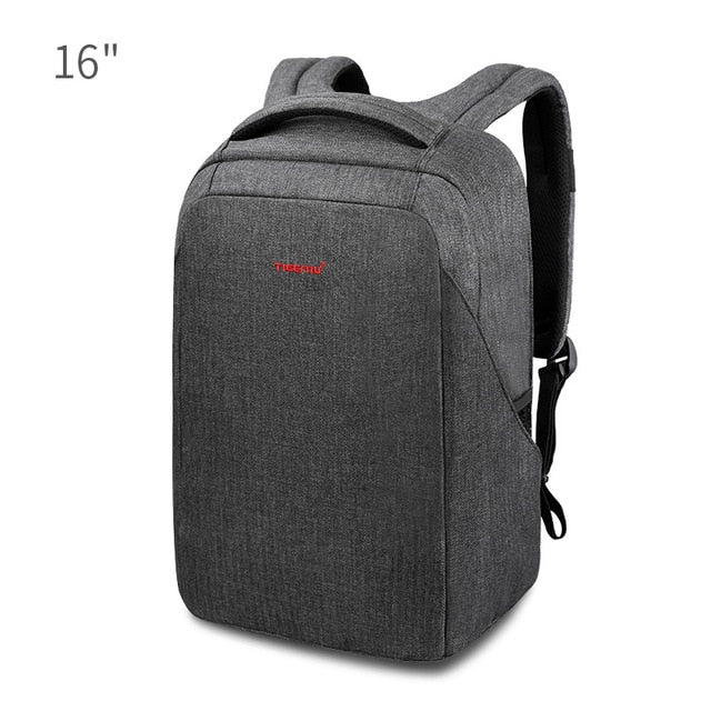 Tigernu Hard Shell Men Anti Theft Schookproof 15.6inch Laptop USB Recharging Backpacks Travel Male Mochilas Schoolbag for Boys