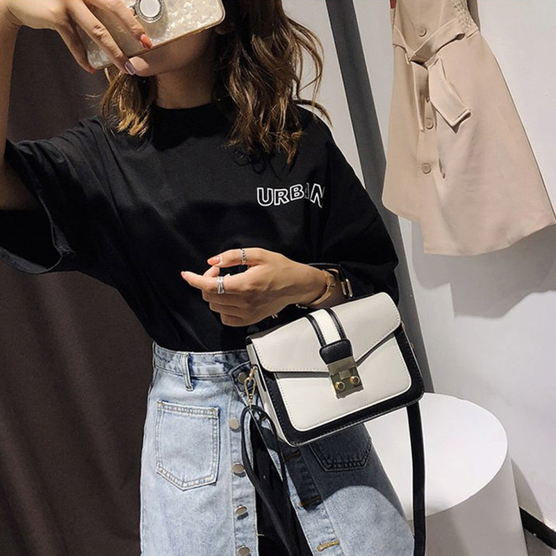 2018 New Women Bag Stylish Handbag With Matching Colors Women Messenger Bags Women's Pouch Evening Party Package Handbags