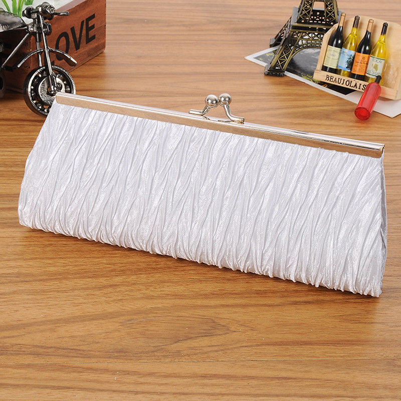 6 colors Women Evening Bag Party Banquet Glitter Bag For Women Girls Wedding Clutches Handbag Chain Shoulder Bag Bolsas Mujer