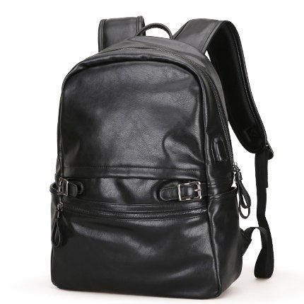 MS Brand Vintage Men Backpacks PU Leather School Male Bags Teenager Casual Laptop Travel Shoulder Bags Mochila Rucksack MS_569