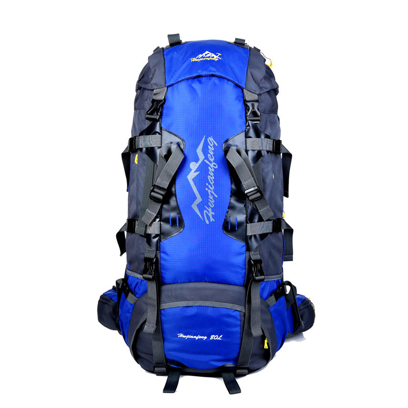 New Fashion 80L Waterproof Backpack Rain Cover Large Capacity Bag Men Rucksack Travel Backpacks