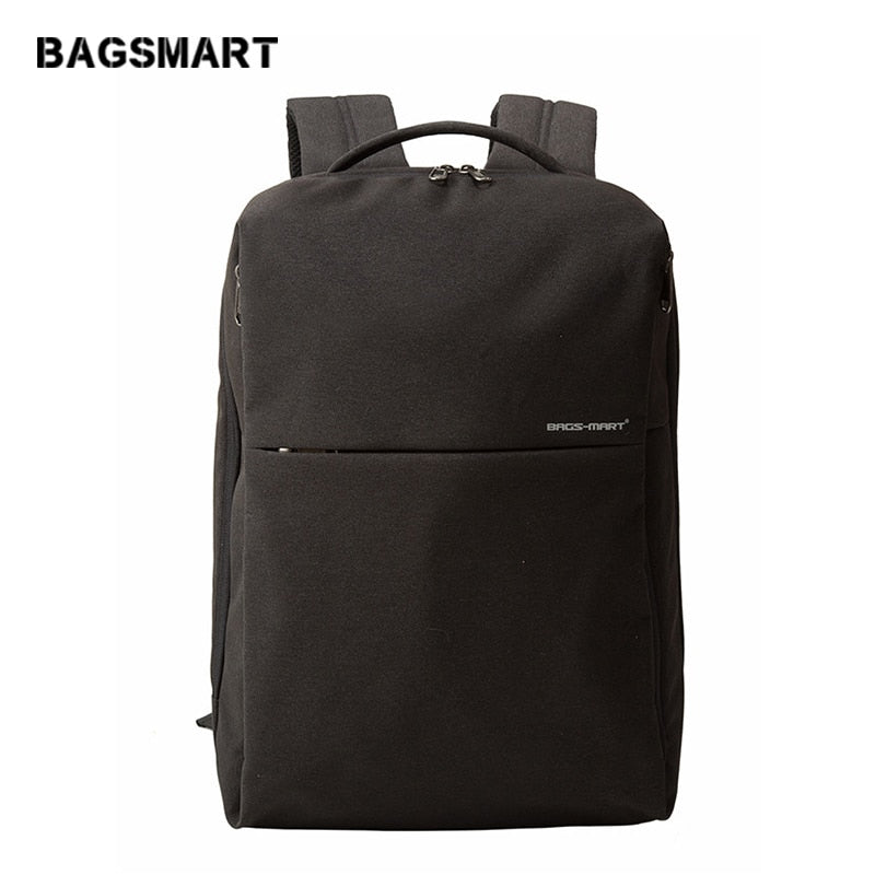 BAGSMART 2018 New Lightweight 15'' Laptop Computer Backpacks For Teenager Fashion Bussiness Backpack Bags For Men Daypack