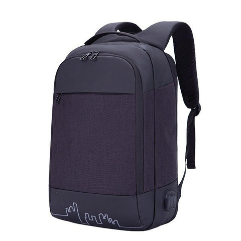 OYIXINGER Women 15.6 Inch Laptop Bag School Mochila Men Waterproof Large Capacity Travel Backpacks USB Charging Headphone Jack