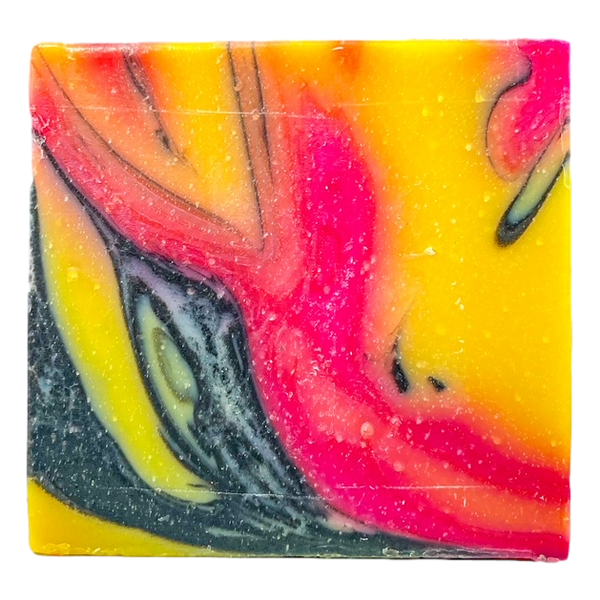 "Patchouli & Charcoal  ""Beauty and the Beast"" Soap"