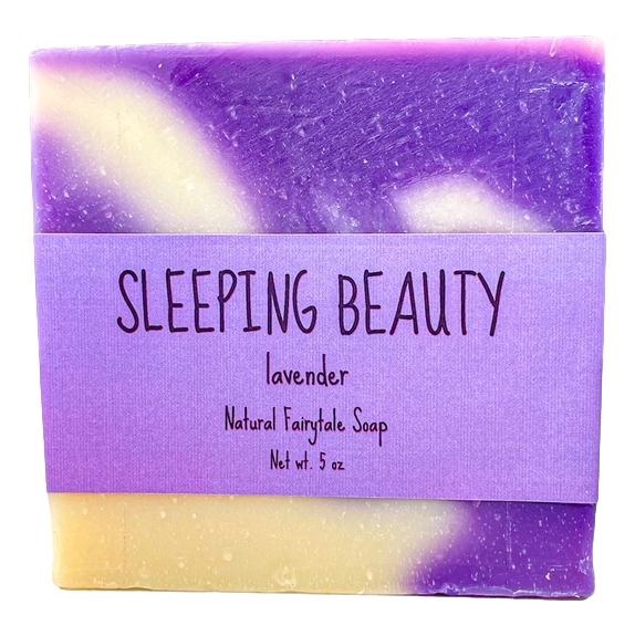 "Lavender ""Sleeping Beauty"" Soap"