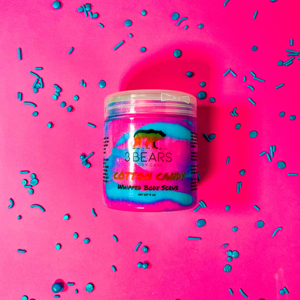 Cotton Candy Whipped Body Scrub