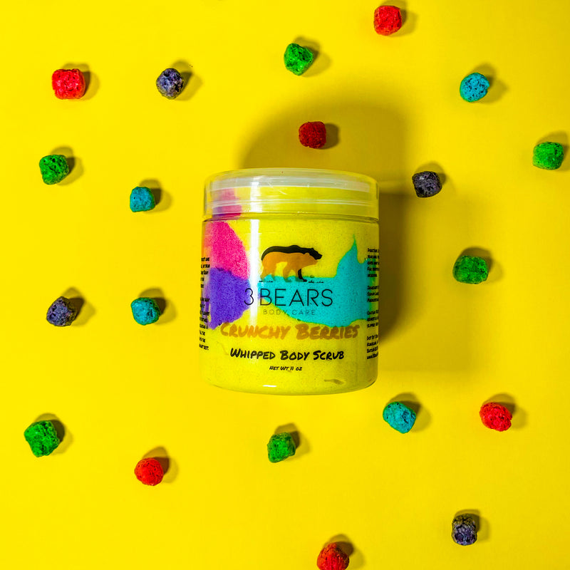 Crunchy Berries Whipped Body Scrub