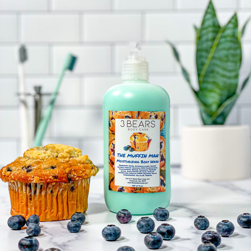The Muffin Man Body Wash